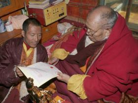 阿秋喇嘛认证第三世多杰羌佛