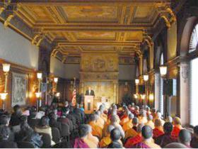 金刚总持多杰羌佛第三世降世,佛教各派法王领袖共同认证祝贺