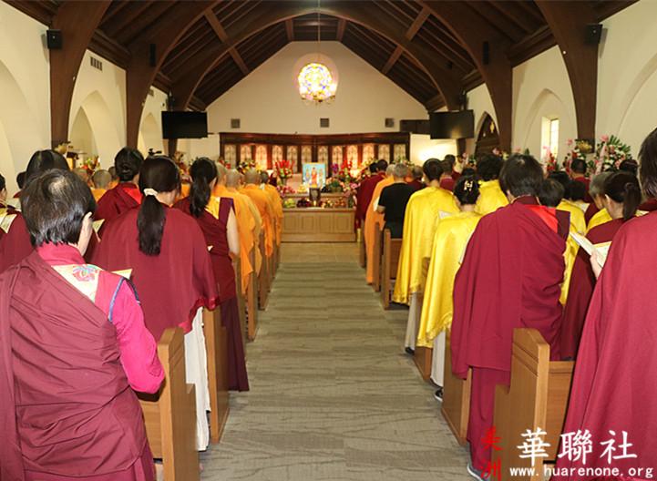 佛教成就圣德 佛教界为赵玉胜居士举办盛大告别法会 第7张