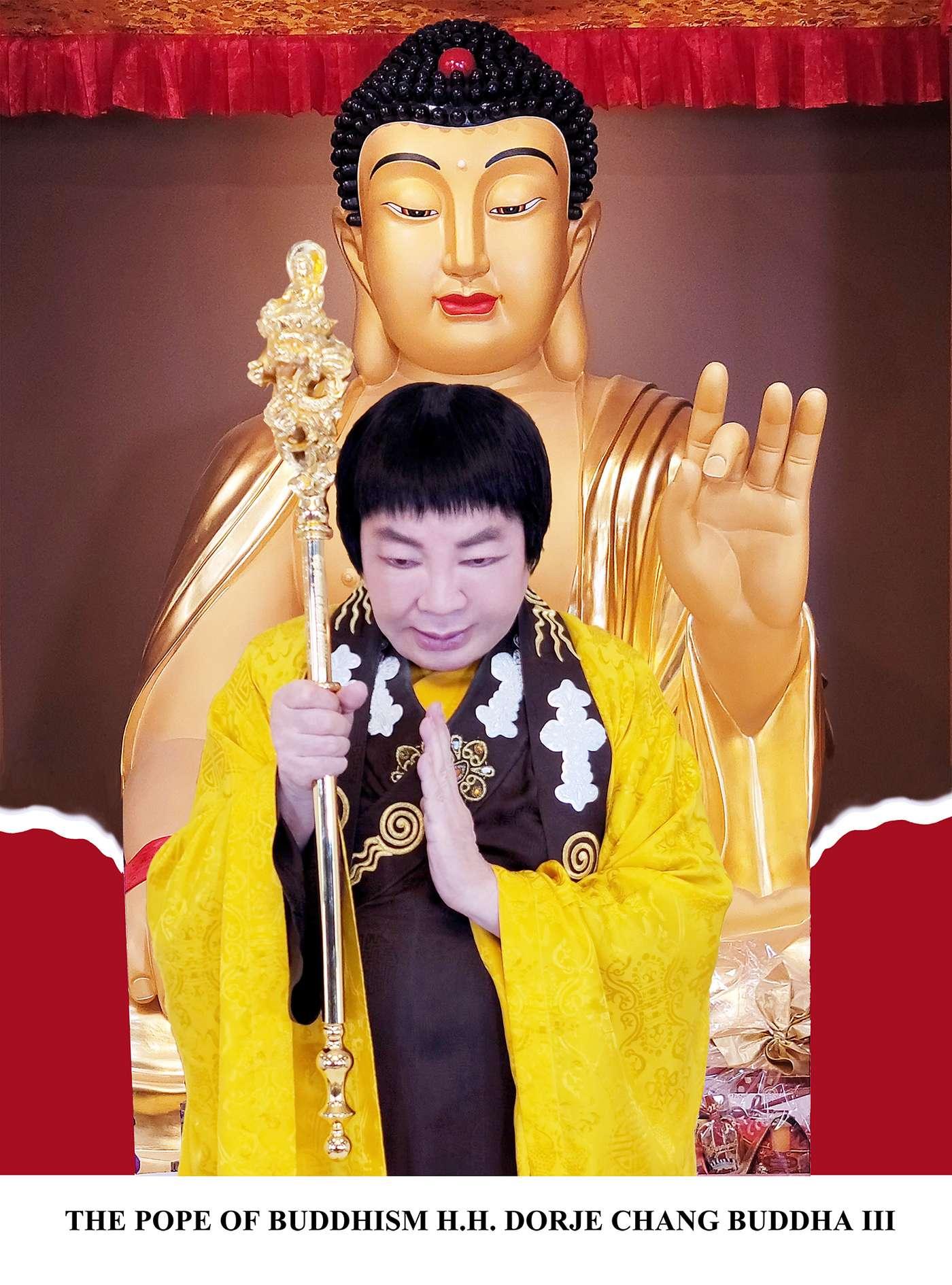 世界佛教教皇 – 南无第三世多杰羌佛 第1张